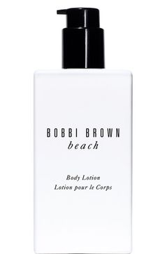 Bobbi Brown 'beach' Body Lotion | Nordstrom. good for post beach... Buy more before cape cod. $35.00