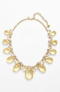 kate spade new york 'up the ante' stone statement necklace | Nordstrom