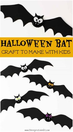 Craft Ideas For Toddlers Bat Magnet This halloween craft idea is fun for kids, toddlers and preschoolers. An easy bat craft for halloween you will love. ´ halloween craft idea is fun for kids, toddlers and preschoolers. An easy bat craft for h Halloween Crafts For Toddlers, Toddler Halloween, Halloween Kostüm, Halloween Activities, Craft Activities For Kids, Halloween Themes, Craft Ideas, Toddler Activities, Halloween Tricks
