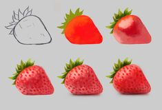 to draw easy, digital art surreal digital art digital artwork digital sketch digital art illustration digital art surrealsurreal digital art digital artwork digital sketch digital art illustration digital art surreal Digital Art Tutorial, Digital Painting Tutorials, Art Tutorials, Digital Art Illustration, Digital Art Beginner, Fruit Painting, Color Pencil Art, Food Drawing, Fruit Art
