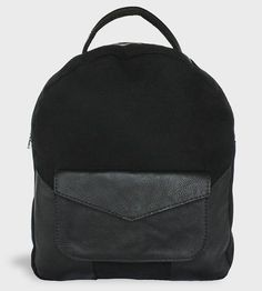 Kingsley Leather & Canvas Backpack by Ian James New York on Scoutmob Shoppe