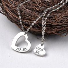 Geschenke für Sie Mutter /& Tochter Herz Halskette Liebe Mutter Schwester