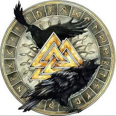 #InstaViking #TheVikingWarriors #Folk #Viking #Celtic #Pagan #Metal#Odin's Ravens#Valknut ~Frigg'