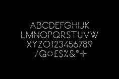 Stencil cut sans-serif, mono-linear logotype for Decontoured designed by Bunch