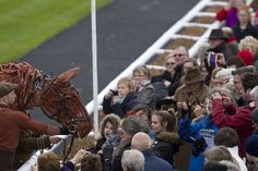 'Joey' from War Horse meeting the public The Curragh Photo Patrick McCann 13.04.2014 (6)