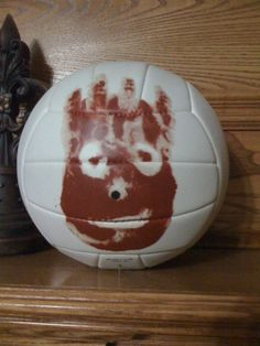 for movie lovers - here is Wilson - Cast Away with Tom Hanks - great conversation piece