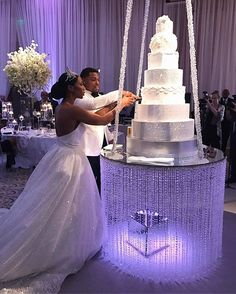 Dana and Akeem threw one heck of a party tonight and we were so excited to be part of their day! Planning/Design: @asouthernsoiree Venue: @theumstead Cake: @cindacakes Lighting/Cake Swing/Draping: @getlitspecialeventlighting / @partytables_linensanddrapery Rentals: @ce_rental_raleigh / @partyreflections / @themeworkscreative Paper: @paperbuzz Photographer: @lauren.cowart Videography: @heartstonefilms Florals: @embellishedblooms Hair and Makeup: @belaanbeauty Ceremony Music: @ariosostring