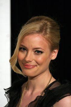 Gillian Jacobs elegant, updo hairstyle