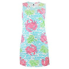 Simply Southern Crabby Sleeveless Dress by Simply Southern from THE LUCKY KNOT - 1