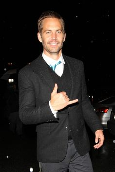 """Friday February 25 2011..""""The Fast & The Furious"""" actor Paul Walker ..."""