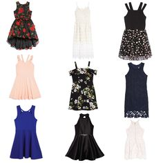 Where To Buy Tween Clothes Tween Party Dresses, Dresses For Tweens, Grad Dresses, Summer Dresses, Formal Dresses, Tween Fashion, Fashion 101, Autumn Fashion, Fashion Outfits