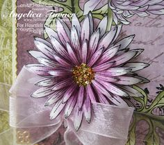 Heartfelt Creations Delicate Asters Die set - Google Search