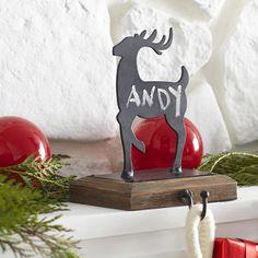 Reindeer Stocking Holder - Cupid - NEW