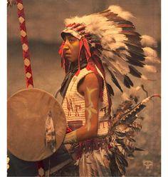Charles American Horse, the son of Oglala Lakota, 1901.