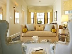 This room is painted BMoore Windham Cream HC-6.  This is the very color I think I will paint our kitchen!