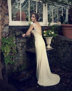 Wedding dresses and bridal wear from Elbeth Gillis :: Morgan Davies :: Bridal and Wedding Dress Shop London Top Wedding Dress Designers, 2015 Wedding Dresses, Wedding Dress Shopping, Morgan Davies Bridal, Nice Dresses, Formal Dresses, Bridal Boutique, Bridal Collection, One Shoulder Wedding Dress
