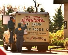 Schwans Ice Cream...mom would order it by the gallon!