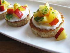 fruit salad canapes