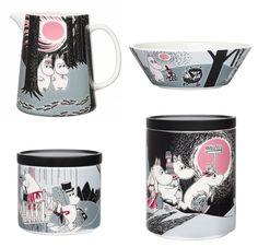 Muumien muutto-sarjan kaikki osat tervetulleita <3 Uppsala, Cool Kitchens, Ceramics, Tableware, Design, House, Decor, Ceramica, Pottery
