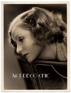 RARE 1930 Greta Garbo Exquisite LARGE Art Deco Photograph Clarence Sinclair Bull #Garbo #ArtDeco #ClarenceSinclairBull