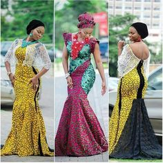 Check Out This Ankara Combinations Styles - DeZango Fashion Zone