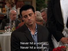 People who take ages deciding in a restaurant. | Community Post: Joey Tribbiani's 35 Greatest Food Moments