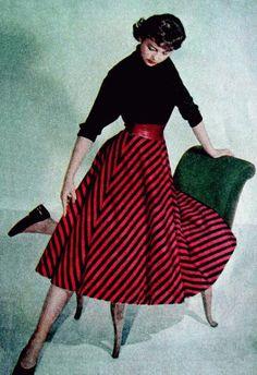 """""""Let's Sew Our Clothes Ourselves at Home."""" """"Žena a móda,"""" Prague (1958, no. 2)."""