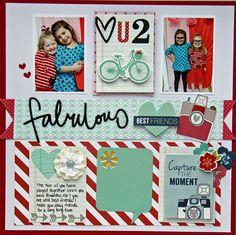 Fabulous Best Friend *My Creative Scrapbook February Main Kit*