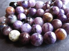 Hey, I found this really awesome Etsy listing at https://www.etsy.com/dk-en/listing/227622995/smooth-charoite-semiprecious-stone-beads