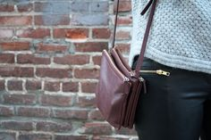 idea for DIY leather bag