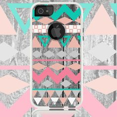 iphone 5/5S Aztec wood Chevron Cases Generic for by CustomArtCases