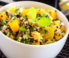 Orange, Mango and Quinoa Salad