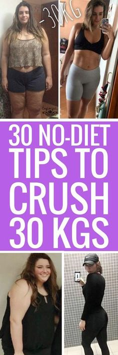 30 no-dieting ways to lose weight fast.