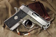 Colt Mustang PocketLite (info here: http://www.coltsmfg.com/Catalog/ColtPistols/Colt380Mustang%C2%AEPocketlite.aspx)