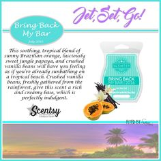 BBMB July 2016: Jet Set Go. Only available for the entire month of July and then it is gone. Order at www.smellarific.com.