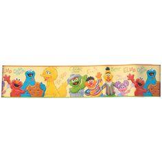 Sesame Street Kids Room Wall Plaques Set Of 6 Sesame