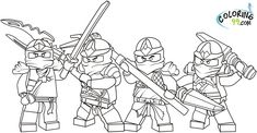 lego dc super heros caloring pages | Lego Ninjago Coloring Pages - Free Printable Pictures Coloring Pages ...