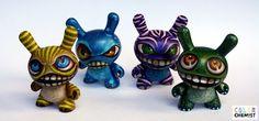 Four Monster Dunnys by bryancollins.deviantart.com on @DeviantArt