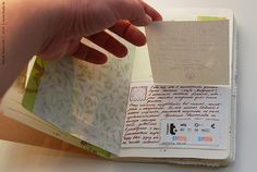 fantastic journal, lots of ideas... love the flip-up card