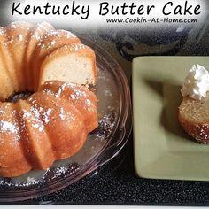 Kentucky Butter Cake8:49 AM Posted by Sandy BarretteNoCommentsKentucky Butter Cake