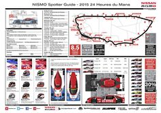 Le Mans 24 Hours Spotters Guide - http://www.carnewscafe.com/2015/06/le-mans-24-hours-spotters-guide/