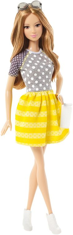 Barbie® Fashionistas® Doll - Dots and Stripes