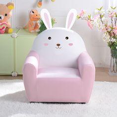 Small Kids Couch | Mini Sofa Chair | Kids Pink Sofa