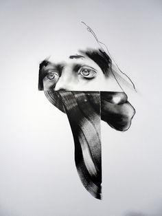 Game Lapse JAYBO MONK. #jacques_villegle http://www.widewalls.ch/artist/jacques-villegle/ #Jaybo_Monk #contemporary #art #street_art #fine_art #paintings