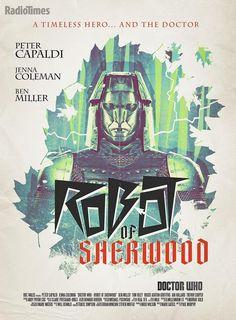 A stunning retro-style poster for 'Robot of Sherwood', by designer @Stuart_Manning.  via Twitter