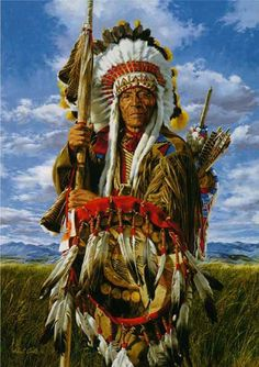 Native Americans Indians Lance and Shield ~ Paul Calle kK Native American Warrior, Native American Wisdom, Native American Beauty, American Indian Art, Native American History, American Indians, American Symbols, Native American Paintings, Native American Pictures