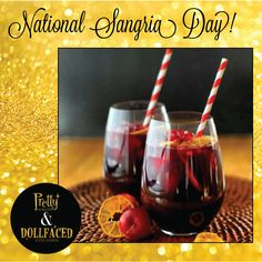 Cheers to #NationalSangriaDay! Raise your glass!!