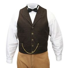 Classic Canvas Work Vest -  Walnut (Digging these vests!  Also, this vest would allow me to bring my sonic screwdriver to the wedding! lol)