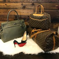 Travel in style this Labor Day weekend with Louis Vuitton, Hermes & Christian Louboutin!