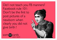 I have said this so many times! If it isn't your news to share, don't be the first to share it! #PregnancyHumor